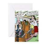 Flying Cartoon 9420 Greeting Cards (Pk of 10)
