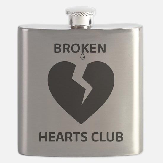 Cute Broken heart Flask
