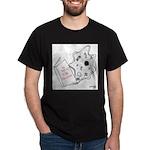 Biology Cartoon 9416 Dark T-Shirt