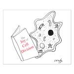 Biology Cartoon 9416 Small Poster