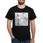Remote Control Cartoon 5715 Dark T-Shirt