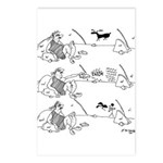 Remote Control Cartoon 57 Postcards (Package of 8)