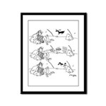 Remote Control Cartoon 5715 Framed Panel Print