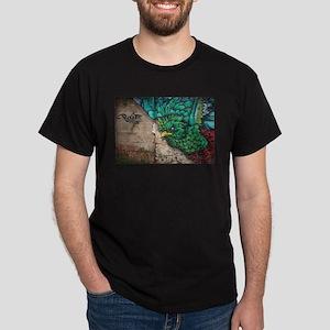 Quetzal Bird Graffiti T-Shirt