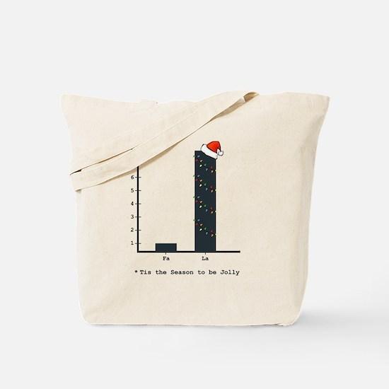Cute College xmas Tote Bag