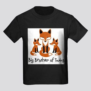 big brother of twins - Mod Fox T-Shirt