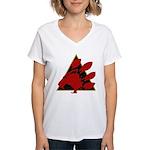 2014 logo Women's V-Neck T-Shirt