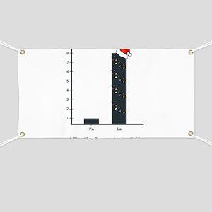 Christmas Bar Graph Banner