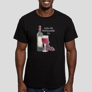 Winemaker Men's Fitted T-Shirt (dark)