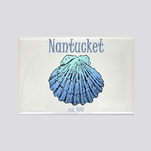 Nantucket Est. 1641 Scallop Shell Magnets