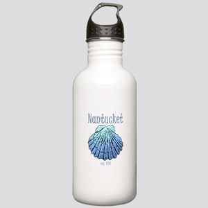 Nantucket Est. 1641 Scallop Shell Water Bottle