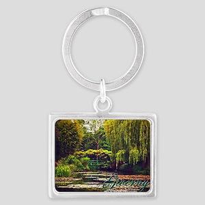 Giverny Garden Landscape Keychain Keychains