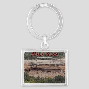 Mesa Verde Landscape Keychain Keychains