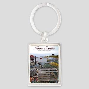 Nova Scotia Portrait Keychain Keychains