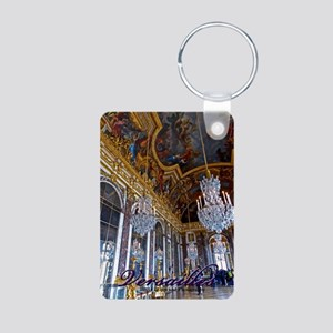 Versailles Mirror Room Aluminum Photo Keychains