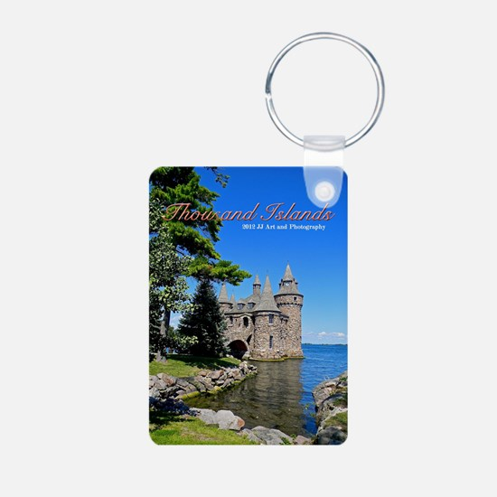 Thousand Island Castle Aluminum Photo Keychains