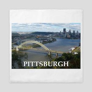 Pittsburgh Queen Duvet