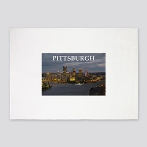 Pittsburgh 5'x7'Area Rug