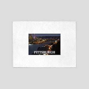 Pittsburgh 5'x7'Area Rug