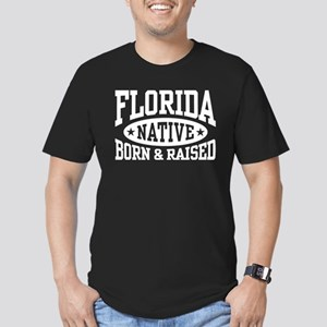Florida Native Men's Fitted T-Shirt (dark)