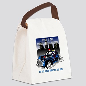 Our Day Begins when Your Day Ends Canvas Lunch Bag