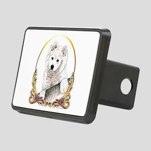 Samoyed Puppy Holiday Rectangular Hitch Cover