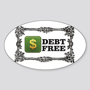 debt free baby Sticker