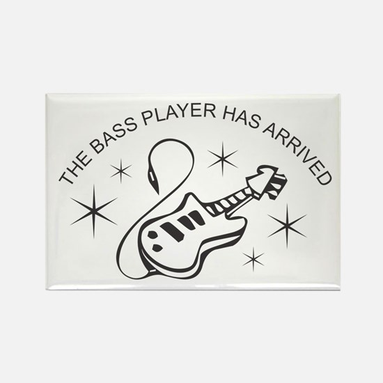 Bass Player Magnets