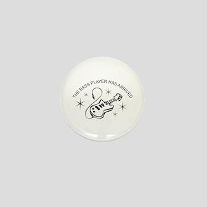 Bass Player Mini Button