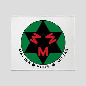 Making Moor Moves BRG Throw Blanket
