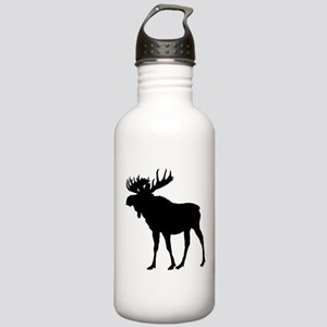 Moose: Black Stainless Water Bottle 1.0L