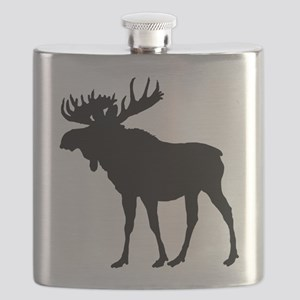 Moose: Black Flask