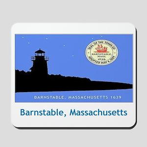 Barnstable MA Flag Mousepad