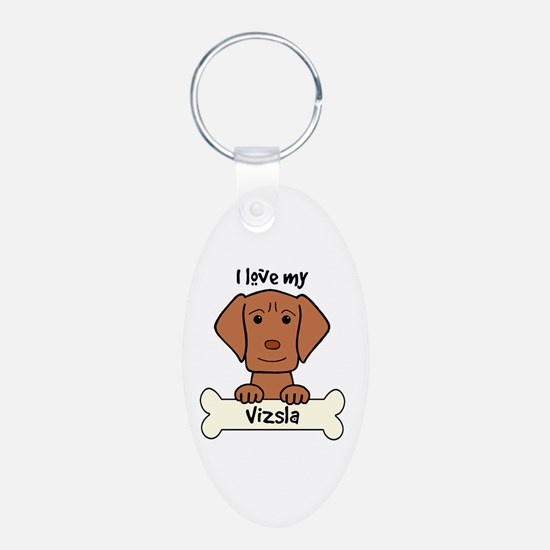 Cute Dog owner Keychains