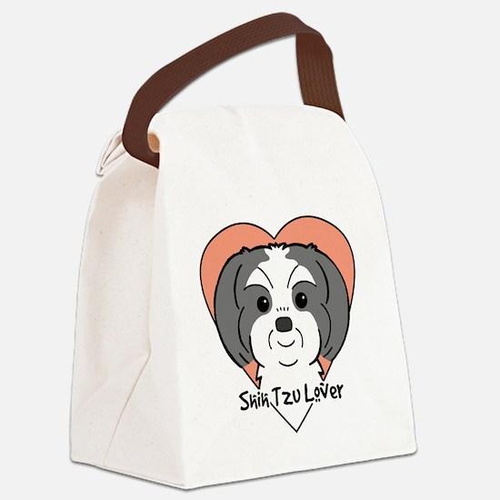 Funny I shih tzu not Canvas Lunch Bag