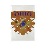 Ohio Mason Rectangle Magnet (100 pack)