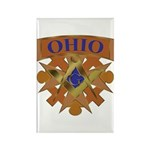 Ohio Mason Rectangle Magnet (10 pack)