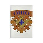 Ohio Mason Rectangle Magnet