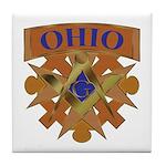 Ohio Mason Tile Coaster