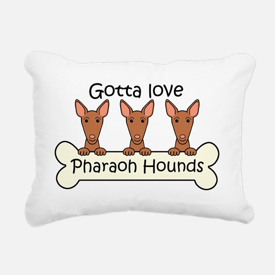 Cute Pharaoh hound Rectangular Canvas Pillow