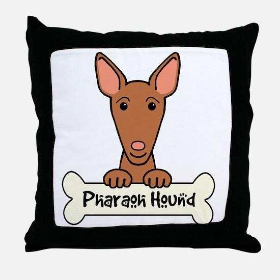Unique Pharaoh hound Throw Pillow