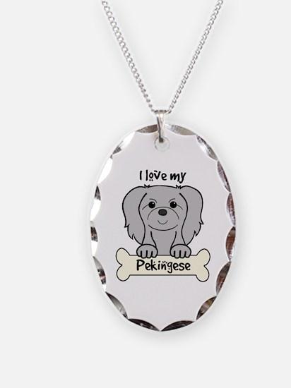 Unique Pekingese Necklace
