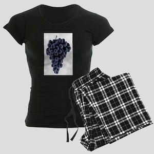 Black Grapes Women's Dark Pajamas