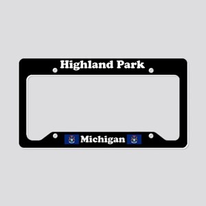 Highland Park MI - LPF License Plate Holder