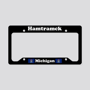 Hamtramck MI - LPF License Plate Holder