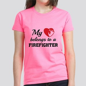 Cfw Wives Fire Funny Firefighter Wife Women s Clothing - CafePress 98e457429