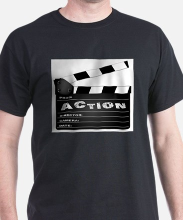 Action Movie Clapperboard T-Shirt