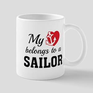 Heart Belongs Sailor Mug