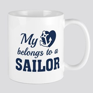 Heart Belongs Sailor Mug
