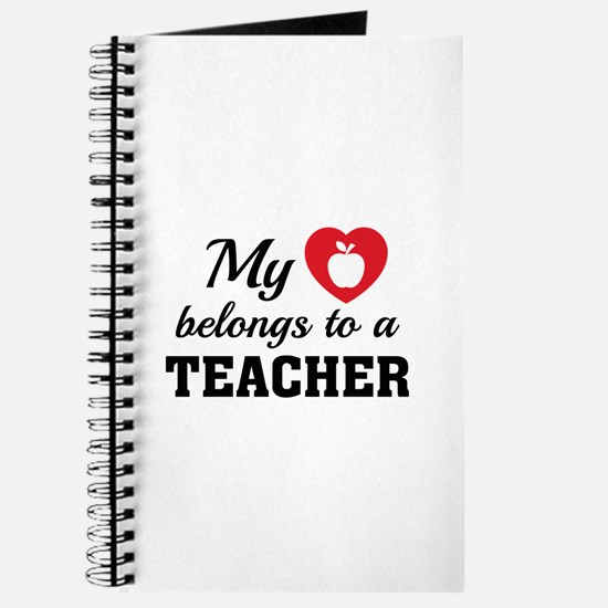 Heart Belongs Teacher Journal